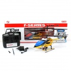 Fashionable Alloy 3-Channel Remote Control R/C Helicopter - Blue + Yellow