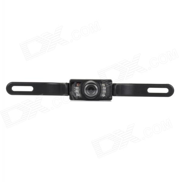 C-6 Universal Waterproof 640 x 480P 2.4GHz Wired Car Rearview Camera w/ 7-IR-LED - BlackRearview Mirrors and Cameras<br>Form  ColorBlackBrandN/AModelC-6Quantity1 DX.PCM.Model.AttributeModel.UnitMaterialPlastic + stainless steelTypeRearview CameraCompatible MakeBMW,Honda,Toyota,VW,Benz,Hyundai,Buick,Audi,Ford,Volvo,Chevrolet,UniversalCompatible Car ModelUniversalStyleExternalCamera TypeWiredVideo SystemPAL,NTSCViewing AngleOthers,120~170 DX.PCM.Model.AttributeModel.UnitIR Night VisionYesLED QtyOthers,7Night Vision Distance300 DX.PCM.Model.AttributeModel.UnitEffective Pixels640 x 480PDistance Ruler LineYesMinimum Illumination0.2 DX.PCM.Model.AttributeModel.UnitWater-proofIP67Packing List1 x Rearview camera (50cm-cable)1 x Video cable (500cm)1 x Power line (95cm)<br>