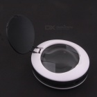 ZnDiy-BRY D14 4.5X Magic Magnifier w / 3 Ultra Bright LEDs - Wit + Rood (3 x AAA)