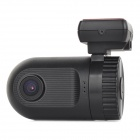 "Mini Wide Angle 1080P 5.0MP CMOS 1.5"" TFT Car DVR w/ GPS / Mic / TF / AV-Out / HDMI - Black"