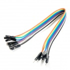 8-Pin DuPont kabely pro Raspberry Pi - Multicolored (21 centimetry)