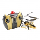 4-Channel Shatterproof R/C Helicopter w/ Gyro - Golden