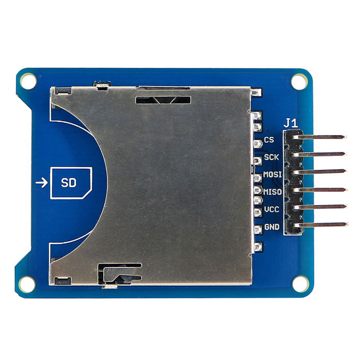 SD / TF Card Adapter modul for Arduino 3, 3V / 5V kompatibel multi-funksjonelle lese skrive modul