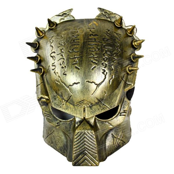 Buy Cute Avpr Wolf in Predator Style Mask - Antique Brass with Litecoins with Free Shipping on Gipsybee.com
