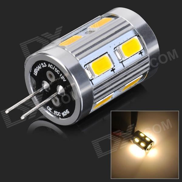 JRLED JRLED-5730-12D G4 4W 360lm 3300K 12-5730 SMD LED Warm White Light Car Lamp (12V)