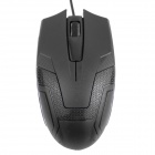 df-010 1200DPI USB Mouse ottico con filo Gaming Mouse-Nero