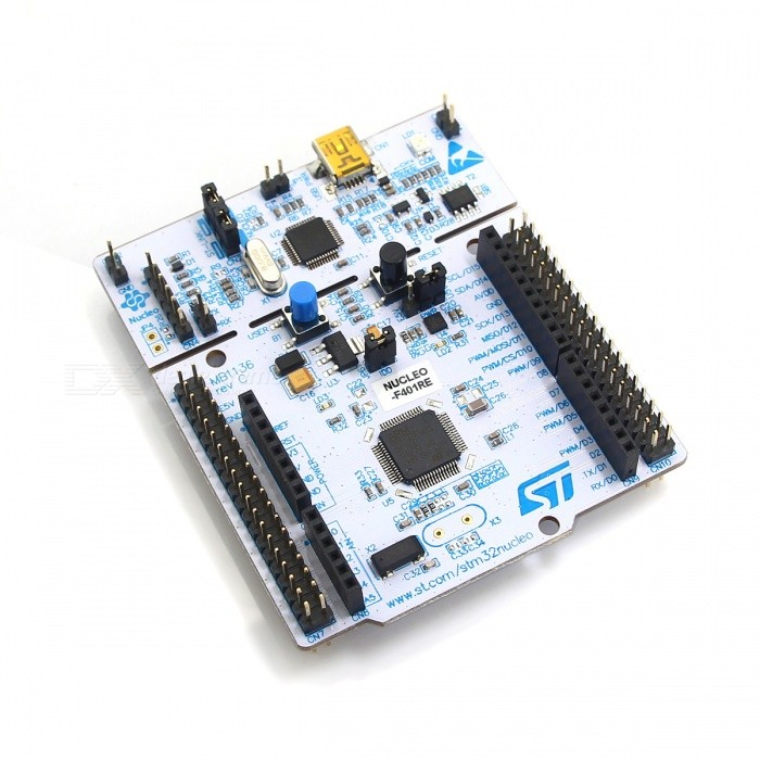 ST NUCLEO-F401RE STM32F401RE Development Board for Arduino - White + Multicolored