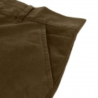 Men's Fashion Casual Cotton Pants - Brown (Size 33)