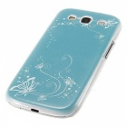 Kinston Plastic Protective Hard Back Case Cover for Samsung Galaxy S3 i9300 - Blue
