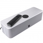 Accolade Sound AS-300T Bluetooth V3.0 Hi-Fi Speaker w/ USB / NFC + Remote Control - Silver