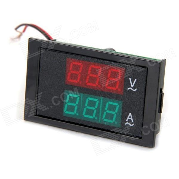 TS-2041 80~300V / 0~50A 6-Digit Voltage / Current Meter - Black