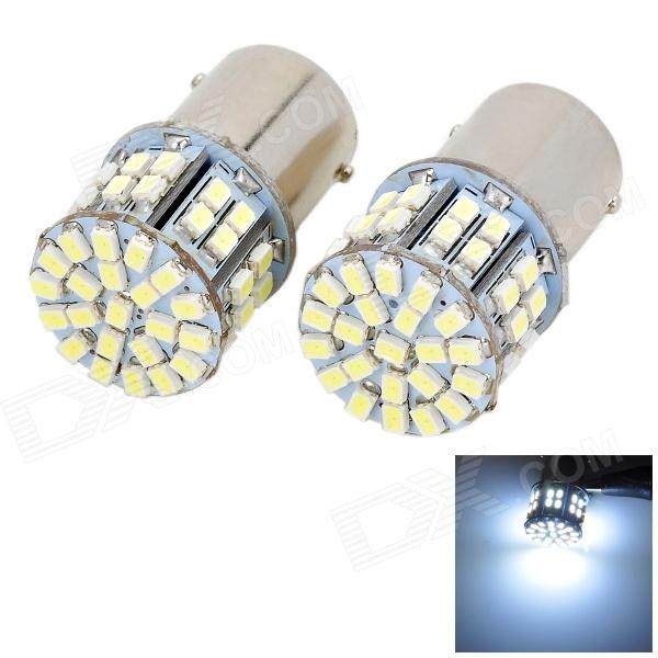 Buy Marsing 1156 9W 800lm 7000K 50-SMD LED White Light Car Brake / Fog Light (2 PCS) with Litecoins with Free Shipping on Gipsybee.com