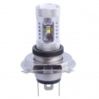 H4 30W 400lm 6-led wit voor Auto Foglight / koplamp (DC 12 ~ 24V)