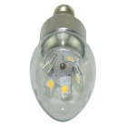 Marsing LZ-02 E14 5W 480lm 10-SMD 5730 LED Cold White Candle Lamp