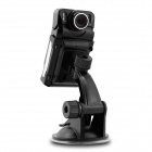 Novatek 3.0MP CMOS Full HD 1080P F880L 140' Angle Lens 2-LED IR Car DVR w/ Loop Recording / G-sensor