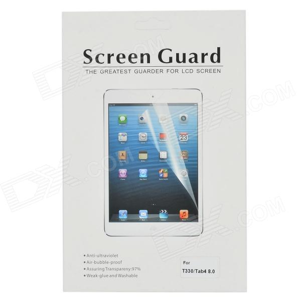 Scratch-proof PVE Protective PVE Screen Protector for 8'' Samsung Galaxy Tab 4