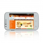 "Mpie H188+ MTK6572 Dual-Core Android 4.4 WCDMA Bar Phone w/ 4.0"" TFT, Wi-Fi, FM, GPS - White"