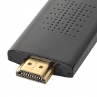 HDMI WiFi Dongle w/ HDMI Male to Female Cable + Micro USB Charging Cable - Black (256M)