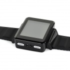 "K2 GSM Watch Phone w/ 1.8"" Resistive Screen, Bluetooth V2.0, GPRS Positioning, Quad-band - Black"