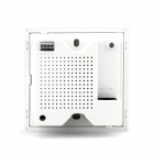 LAFALINK PW300U48 PoE 300Mbps Inwall Panel Wireless Wi-Fi AP w/ USB - White