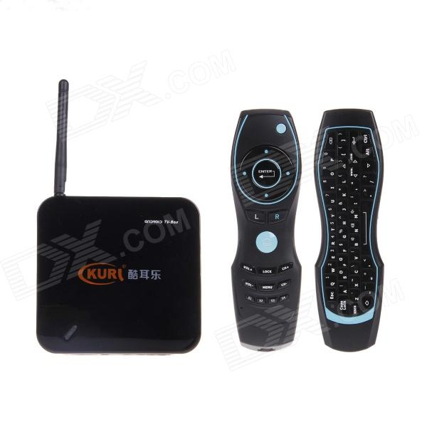KURL Dual-core HD Network Andriod 4.2 TV Box w/ 1GB RAM, 1GB ROM + Air Mouse + Wireless Keyboard