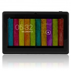 "7.0"" Quad-core A33 Android 4.4 Tablet PC w/ 4GB ROM, Bluetooth, TF, Dual-Camera - Black"