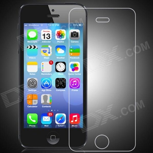 0.3mm Tempered Glass Screen Protector for IPHONE 5/5S/5C - TransparentScreen Protectors<br>BrandN/AModelN/AQuantity1 DX.PCM.Model.AttributeModel.UnitMaterialTempered glassForm  ColorTransparentCompatible ModelsIPHONE 5S,IPHONE 5C,IPHONE 5StyleScreen protector,Home Button StickerScreen TypeClearScreen FeaturesScratch Proof,Explosion ProofPacking List1 x Screen Protector<br>