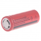 Lomon A-04E 3.7V 700mAh Rechargeable 26650 Lithium Ion Battery - Red + Black