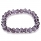 Fenlu FL-058 Damen-Mode Strass Bead Armband - Purple