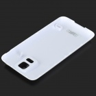 IKKI 3.8V 4800mAh Dual-battery Thickened Li-ion Battery w/ Back Case for Samsung Galaxy S5 - White