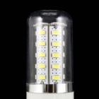 E27 5W 500lm 36-SMD 5730 LED Bluish White Light Corn Lamp (AC 220V)
