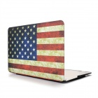 Angibabe Retro US-Flagge Staubdicht Wasserdicht Notebook Skin Cover für Apple MacBook Air 11,6 Zoll