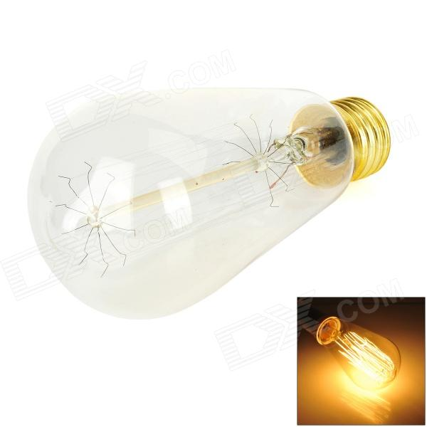 MLSLED MLX-T64 E27 60W 380lm Warm White Osram Lamp -  Yellow + Translucent White (AC220~240V)
