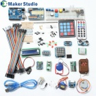 Maker Studio AK0000510M Arduino Uno R3 Learning Deluxe Kit – Multicolored