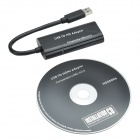 CHEERLINK HD00006 1080P Full HD 5Gpbs High Speed USB 3.0 to HDMI 1.4 Converter Adapter Cable - Black