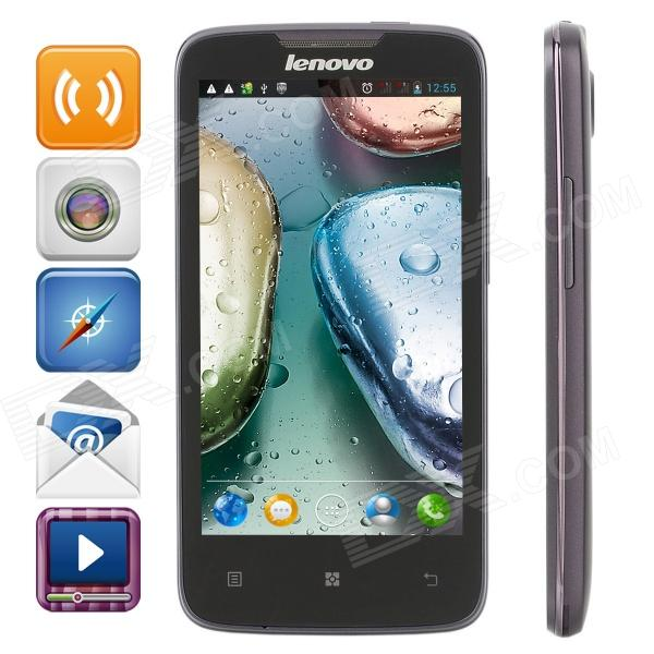 "Lenovo A820 Android 4.1 WCDMA Quad-Core Bar Phone w/ 4.5"" Capacitive Screen, Wi-Fi, GPS and Dual-SIM"