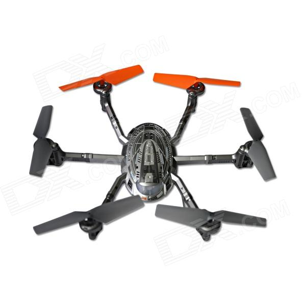 Walkera QR-Y100 5.8GHz 6 Ось FPV Quad Hexacopter Wi-Fi версия для IOS / Android - серебристо-серый