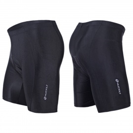 NUCKILY-NS355-Mens-Four-Seasons-Outdoor-Cycling-Lycra-Padded-Underwear-Black-(M)