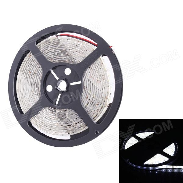 36W 900lm 300-SMD 3528 LED Bluish White Light Strip - White3528 SMD Strips<br>Form ColorWhiteColor BINBluish WhiteMaterialCopper + chipQuantity1 DX.PCM.Model.AttributeModel.UnitPower36WRated VoltageDC 12 DX.PCM.Model.AttributeModel.UnitEmitter Type3528 SMD LEDTotal Emitters300Color Temperature7000KWavelengthNoActual Lumens900 DX.PCM.Model.AttributeModel.UnitPower AdapterOthers,WiredPacking List1 x Light strip<br>