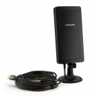 LAFALINK LF-D520B 150Mbps Outdoor High Power Wireless USB Network Card Adapter - Black