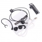 H8 Bluetooth V4.0 Ear-hook Headset w/ Microphone for IPHONE / Samsung + More - Black