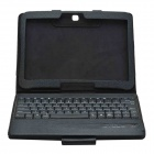 Bluetooth V3.0 83-Key Keyboard with Detachable Case for Samsung Galaxy Tab 4 10.1 - Black
