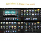 "LsqSTAR 7"" Android Capacitive Screen Car DVD Player w/ GPS FM SWC AUX BT WiFi CanBus for Hyundai I40"