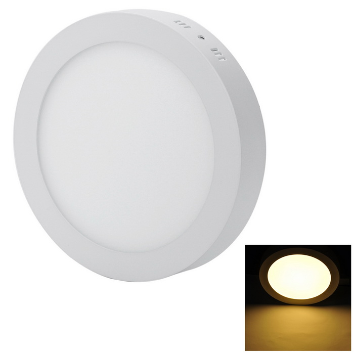 Marsing 18W 1600lm LED Warm White Round Panel Ceiling Lamp