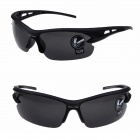 OULAIOU LA-1103 Outdoor Cycling UV400 Protection PC Sunglasses - Black