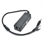 HOM-PD3201 15,4 W 10 / 100M IEEE802.3af Power over Ethernet PoE splitter - nero