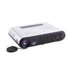 RUISHIDA T12 1280 x 800 HDMI 2D / 3D DLP HD Mini Home Projector w/ 3-USB / SD - White