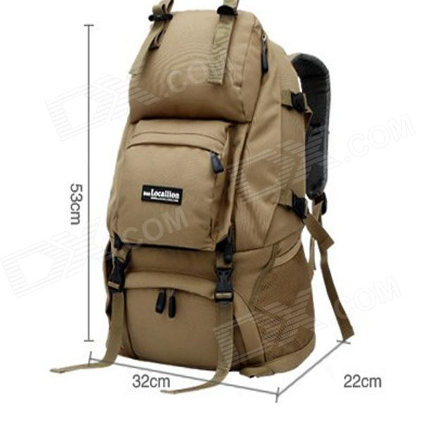 305f54d014f9 ... LOCAL LION LN-31 Outdoor Sports Mountaineering Backpack - Khaki (40L)  ...