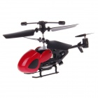 QS5026 3.5-Channel Infrared Remote Control Helicopter with Gyro - Red + Black