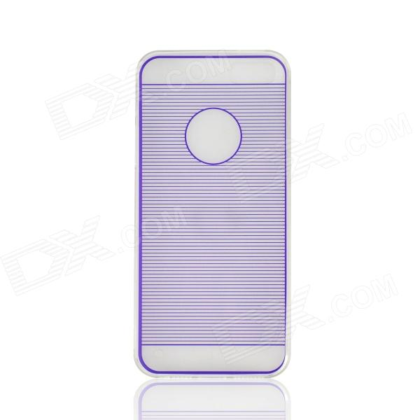 Angibabe 0.3mm Drawing Line TPU & Jelly Case for IPHONE 5  / 5S - Blue